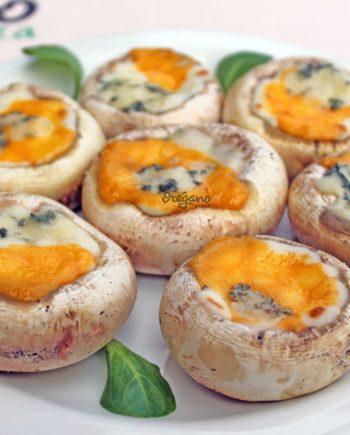champiñones-al-horno-tres-quesos