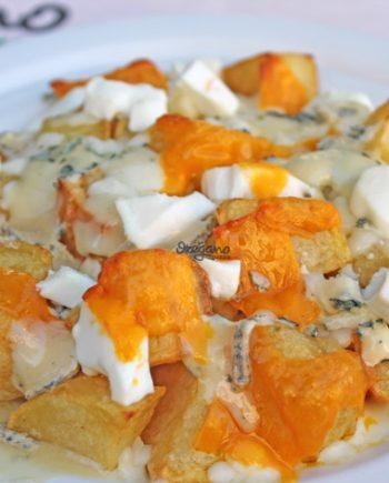 patatas con quesos